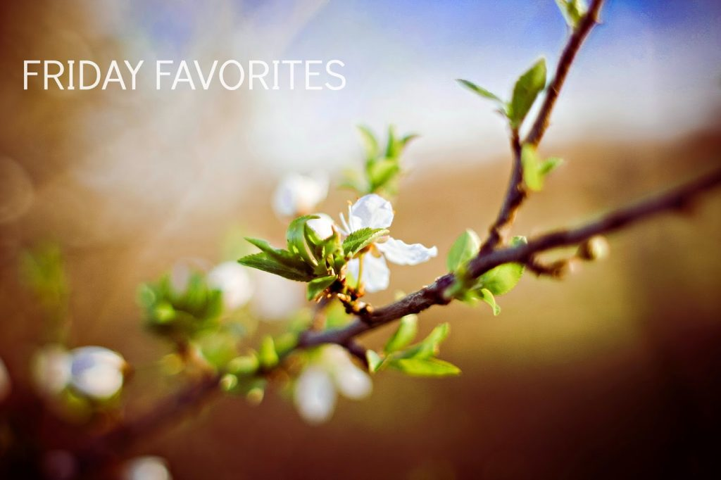 Ioanna's Notebook - Friday Favorites May 2015