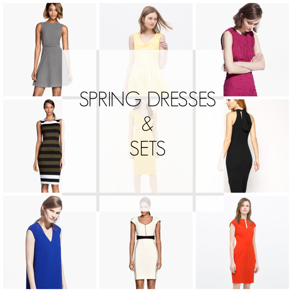 Ioanna's Notebook - Spring dresses and sets - How to style spring dress ideas