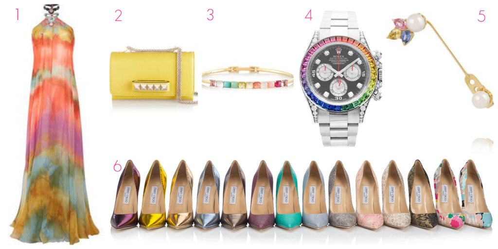 Ioanna's Notebook - Currently Craving May edition - Emilio Pucci+Valentino+Ippolita+Rolex+Yvonne Leon+Jimmy Choo