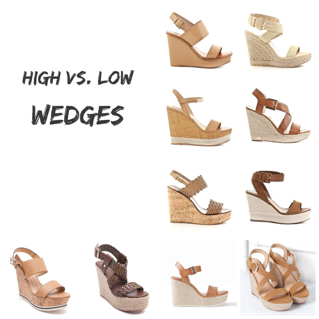 Ioanna's Notebook - High vs. low - wedges