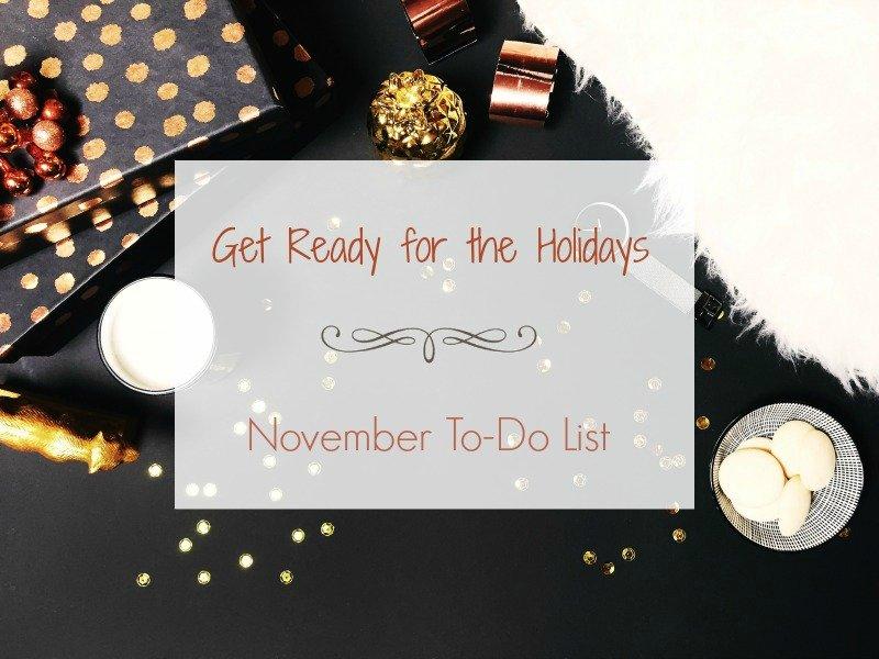 November To-Do list - Ioanna's Notebook