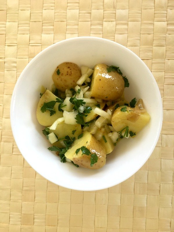 Potato Salad with Mustard Dressing - Ioanna's Notebook