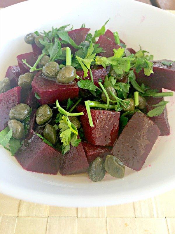 Beetroot Caper Salad Recipe - Ioanna's Notebook