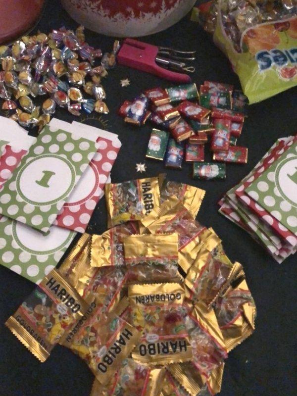 Quick & easy DIY Advent Calendar | Ioanna's Notebook