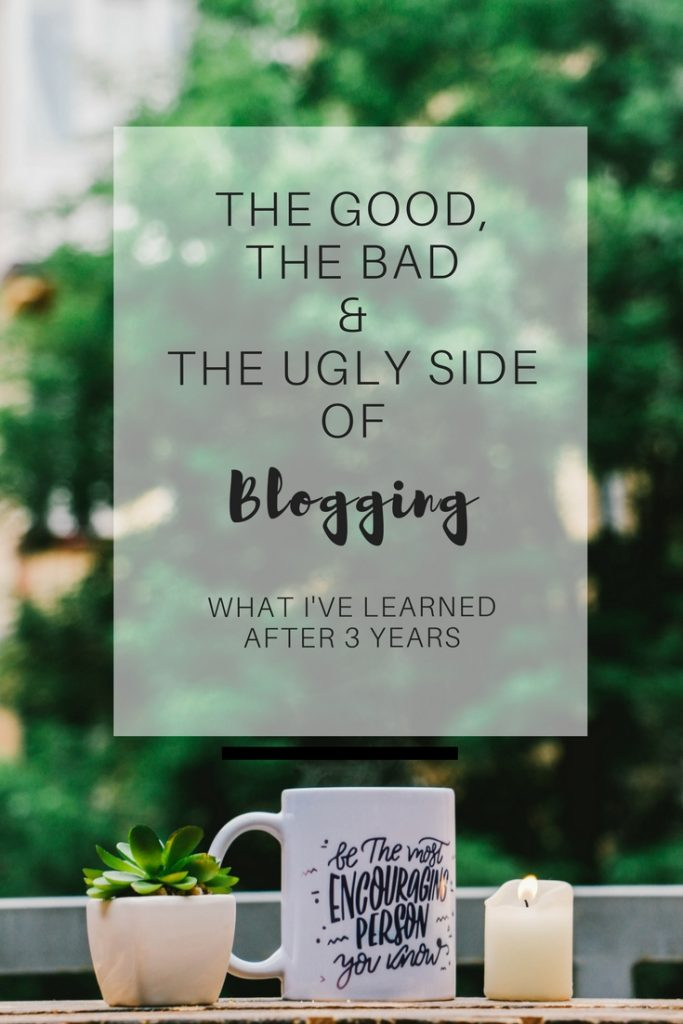 The good, the bad and the ugly side of blogging: What 3 years of blogging have teached me - Ioanna's Notebook