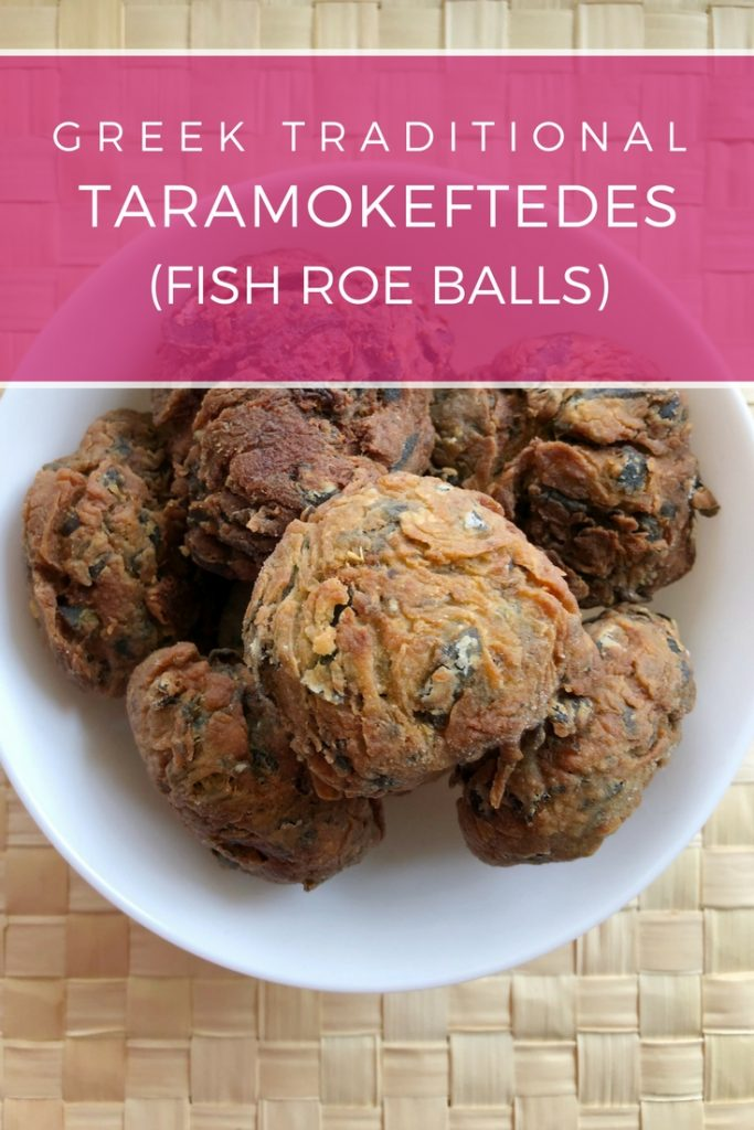 Greek traditional Fish Roe balls (Taramokeftedes) recipe: Delicious, spicy balls perfect appetizer for your wine, beer or ouzo!   Ioanna's Notebook