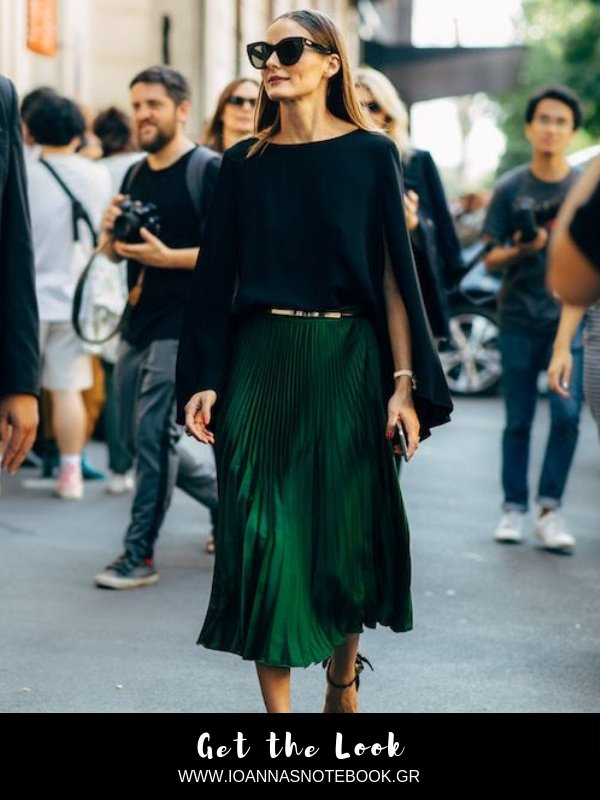 Get the look: Recreate this elegant and chic look that Olivia Palermo wore for Milan Fashion Week with affordable items | Ioanna's Notebook #lookforless #gethelook #celebritystyle #shopping #fashion