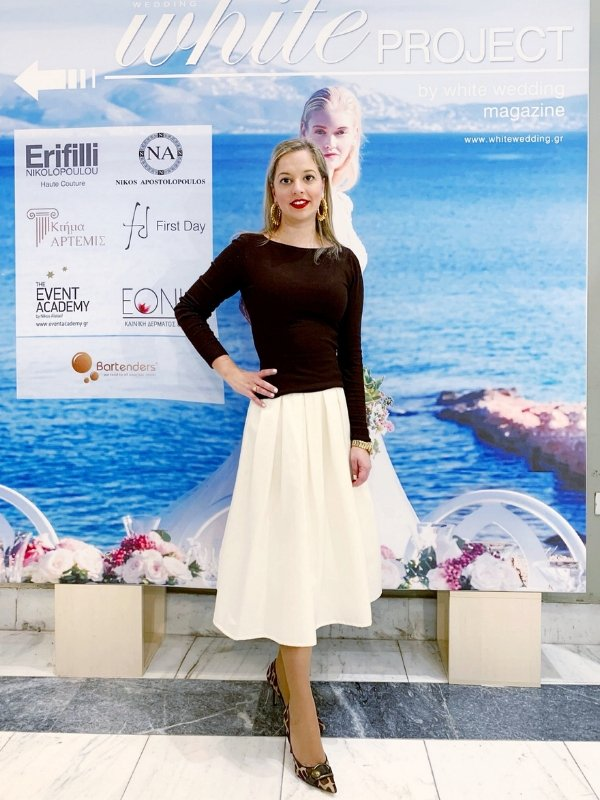 Outfit of the Day: Annabelle Moda full skirt for a chic and elegant look   Ioanna's Notebook #fashion #ootd #outfit #skirt #outfitinspiration