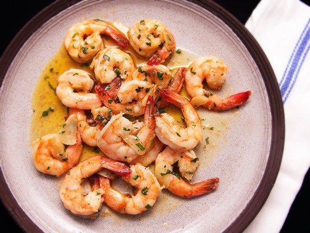 Spicy shrimps recipe