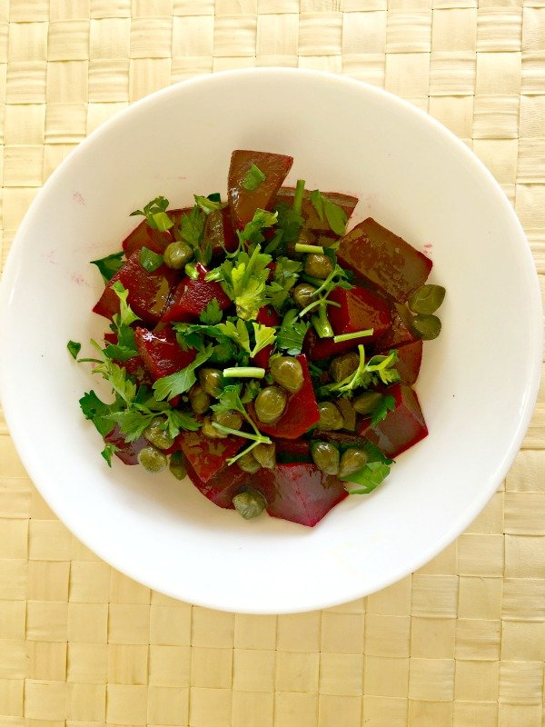 Beetroot Capers Salad Recipe - Ioanna's Notebook