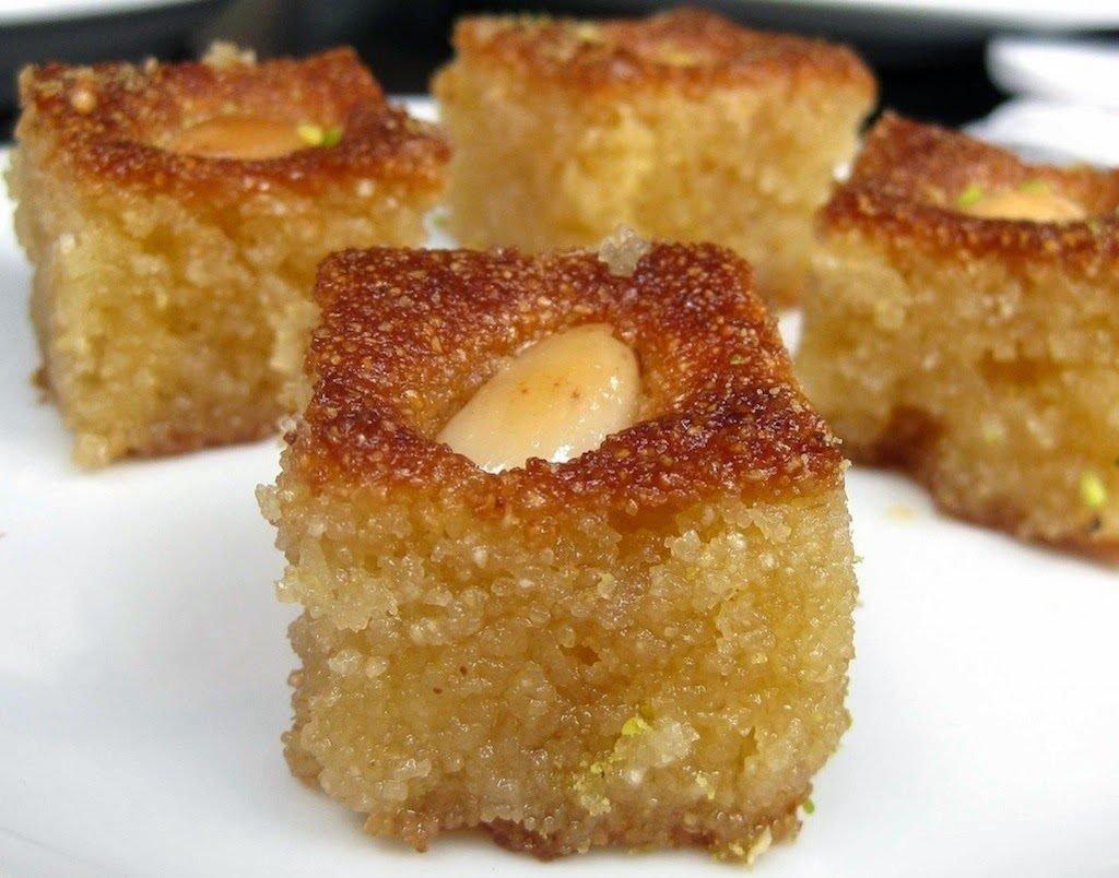 Greek dessert from Agrinio area - Revani