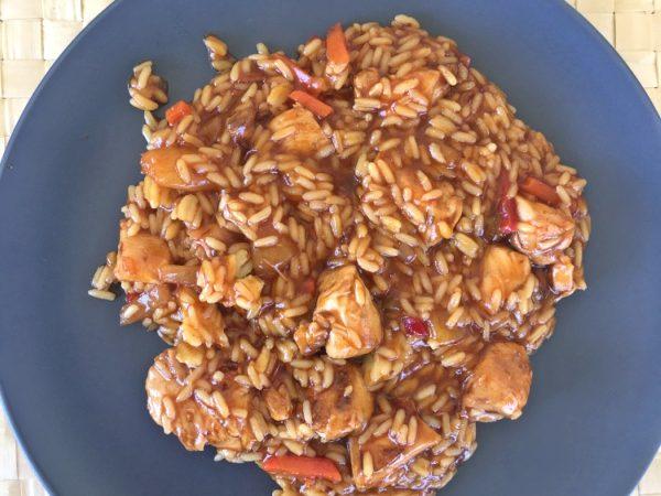 homemade-sweet-sour-chicken-rice-recipe