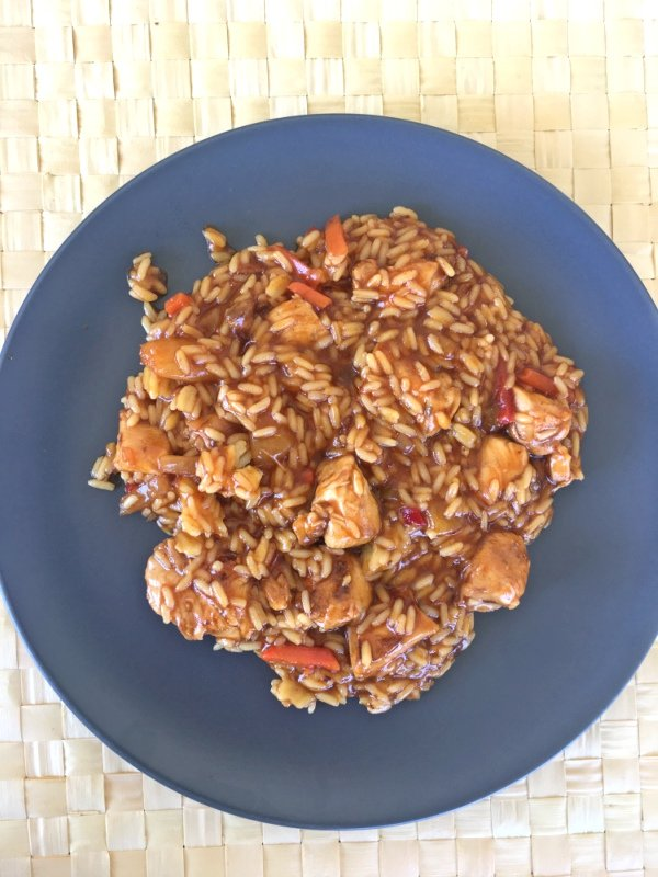homemade-sweet-sour-chicken-rice-recipe
