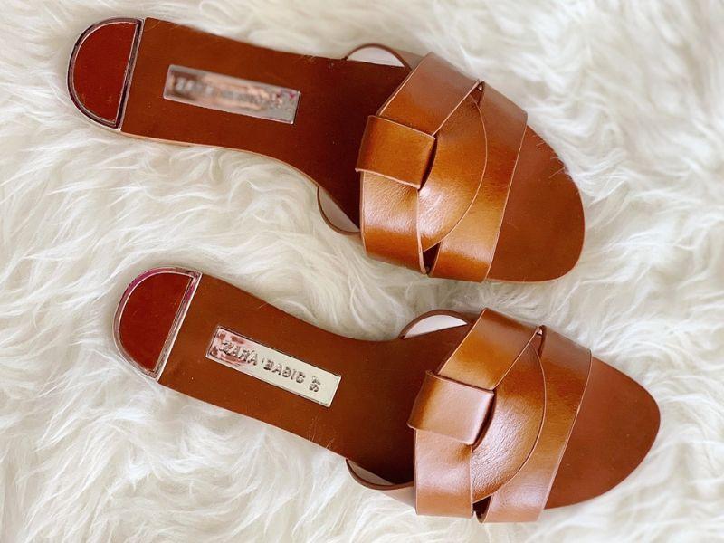 Saint Laurent Tribute slide sandals dupe