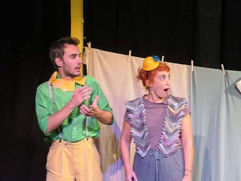 """Παιδική παράσταση: """"Ο Λευτέρης, ένα περιστέρι δίχως ταίρι"""" - Ο Λευτέρης φτερουγίζει στη σκηνή του θεάτρου Άβατον για δεύτερη χρονιά!"""