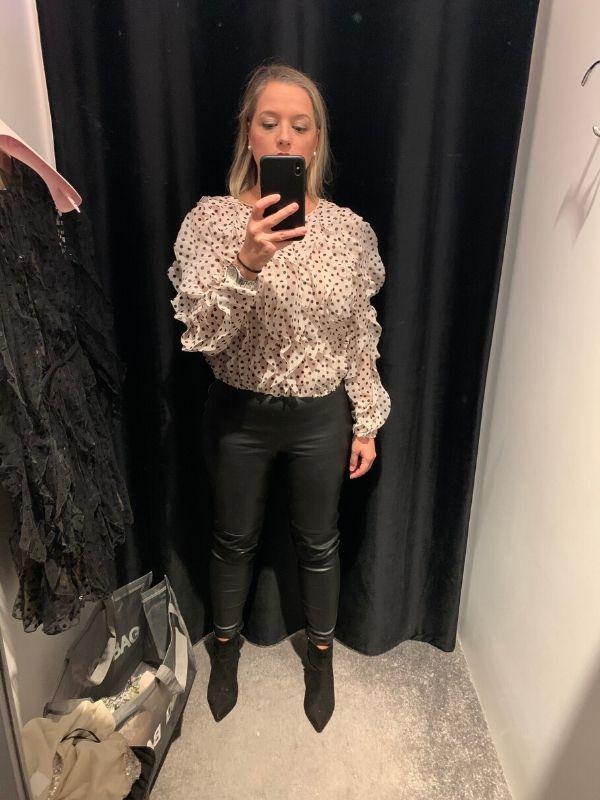 Giambattista Valli x H&M Airy flounced blouse