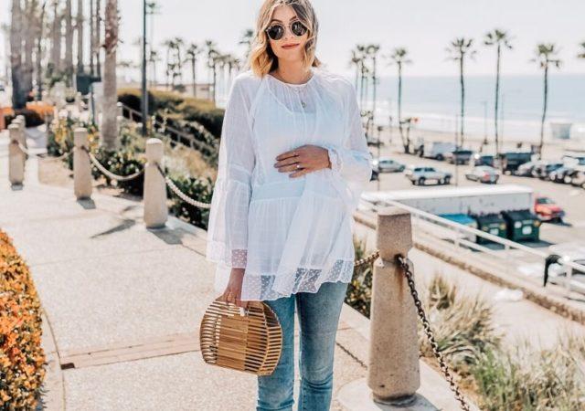 Ανοιξιάτικα Maternity Outfits για κομψές μέλουσες μανούλες - Ιδέες για το πως θα συνδυάσετε έξυπνα και στυλάτα τα κομμάτια που ήδη έχετε.