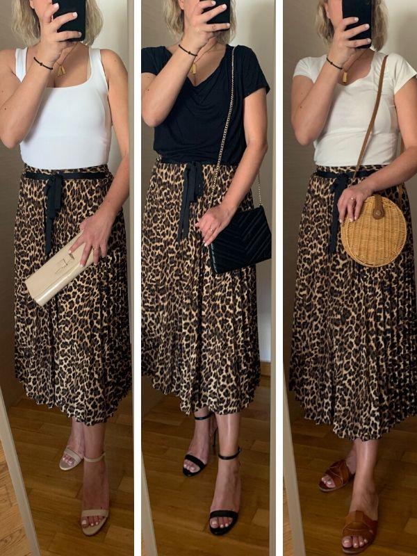 Shop your closet: Leopard φούστα - Iδέες και συμβουλές για το πως θα συνδυάσετε τα αγαπημένα κομμάτια που ήδη έχετε για να δημιουργήσετε νέα looks.