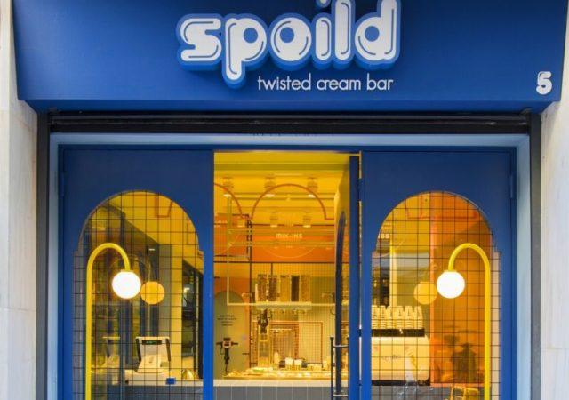 Spoild: Ένα πρωτοποριακό ice-cream bar που ήρθε για να σας «κακομάθει» άνοιξε τις πόρτες του στο Νο. 5 της οδού Βουλής, στο κέντρο της Αθήνας.