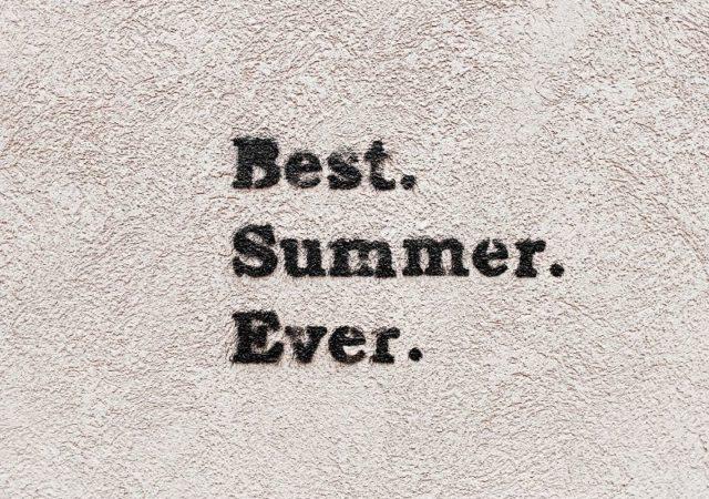 Summer Bucket List - Μια λίστα γεμάτη ιδέες και προτάσεις για να απολαύσετε το ελληνικό καλοκαίρι στο έπαρκο ακόμη και μέσα στην πόλη!