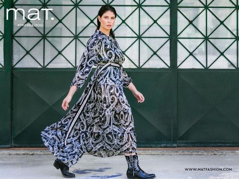 H mat. fashion παρουσιάζει πρώτη τη νέα της εντυπωσιακή συλλογή mat. fashion Fall / Winter 2021 για το Φθινόπωρο και τον Χειμώνα του 2021.
