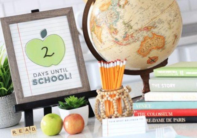4 Ιδέες για να κάνετε ιδιαίτερη την επιστροφή στο σχολείο - Εύκολοι τρόποι για να κάνουμε ιδιαίτερη την πρώτη ημέρα του σχολείου.
