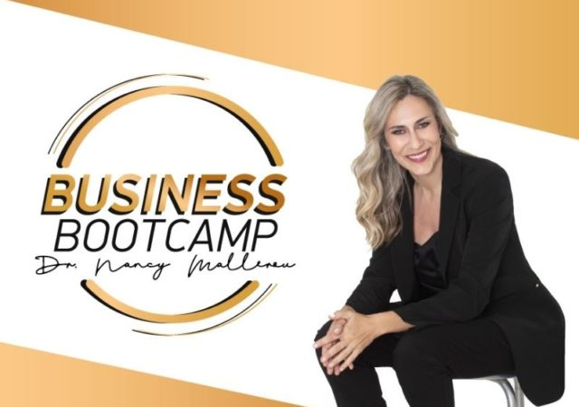 Business Bootcamp από την Δρ. Νάνσυ Μαλλέρου- Restart στην επιχείρησή σας σε 8 εβδομάδες με ένα πρόγραμμα, απόλυτα προσαρμοσμένο στις σύγχρονες ανάγκες.