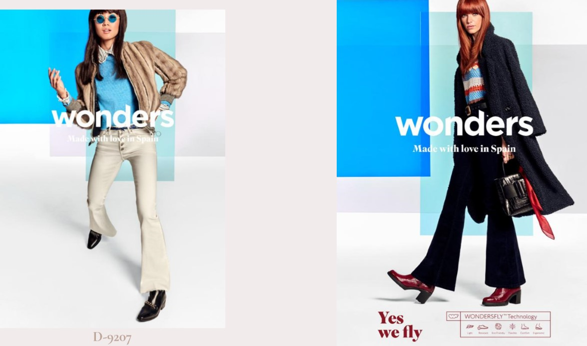 Η νέα φθινοπωρινή συλλογή υποδημάτων Wonders Shoes προσφέρει ποιότητα αλλά και μοντέρνα εμφάνιση, άνεση για όλες τις ώρες και αγάπη για τη λεπτομέρεια.