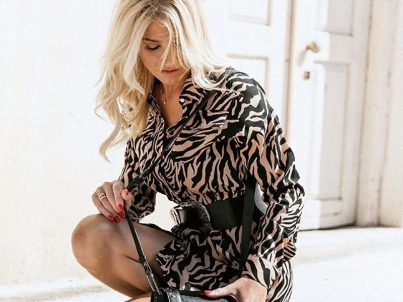 Get the Look: Wild Beauty by Fay Skorda - Η αγαπημένη Φαίη Σκορδά επιλέγει να συνδυάσει το πιο hot φθινοπωρινό look για τις εξορμήσεις της.