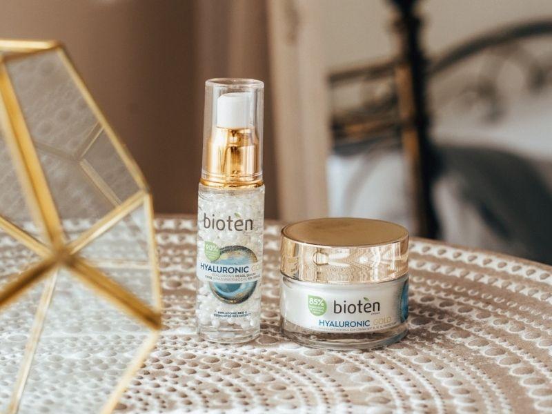 bioten HYALURONIC GOLD - Το ''χρυσό'' μυστικό ομορφιάς, η απόλυτη δύναμη αντιγήρανσης για ένα νεανικό δέρμα που ακτινοβολεί.