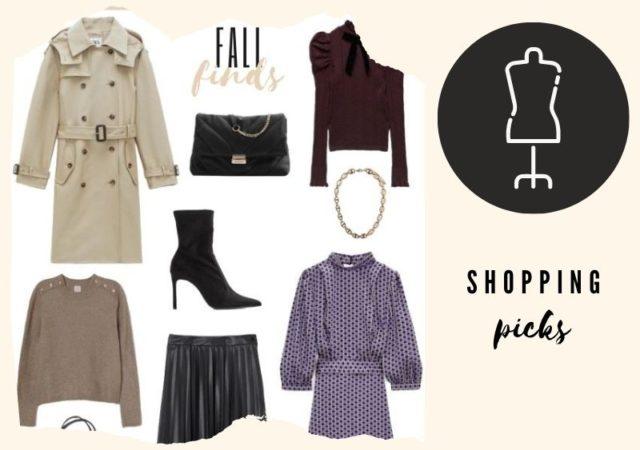 Fashion Fall finds - Στυλάτες και οικονομικές φθινοπωρινές προτάσεις για να ανανεώσετε την ντουλάπα σας ενόψει της νέας σεζόν.