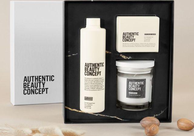 Η AUTHENTIC BEAUTY CONCEPT φέτος μας προσκαλεί να γιορτάσουμε όλοι μαζί την αυθεντική ομορφιά με τα ελκυστικά, limited edition premium πακέτα περιποίησης μαλλιών Glow, Hydrate και Replenish.
