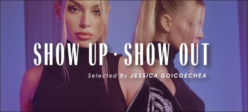 Bershka Show Up – Show Out Selected by Jessica Goicoechea - Μια συλλογή από εντυπωσιακά κομμάτια για να κλείσουμε τον χρόνο με στιλ.