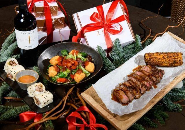 Το Zuka σας προσφέρει την απόλυτη γευστική εμπειρία αυτές τις Γιορτές φέρνοντας στο σπίτι μας την απόλυτη γαστρονομική εμπειρία.
