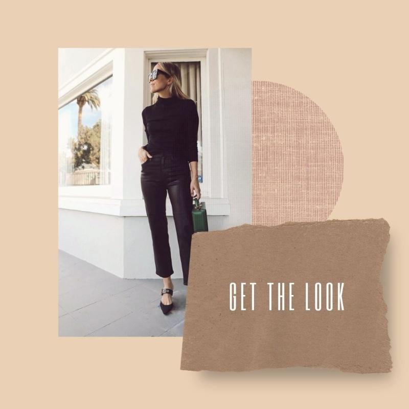 Get the Look: Total Black Outfit για τις δύσκολες ώρες και μέρες. Το total black look είναι διαχρονικό και ταιριάζει σε όλες τις περιστάσεις.