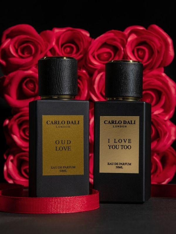 Τα ερωτικά αρώματα CARLO DALI LONDON «I LOVE YOU TOO» και «OUD LOVE»  αποτελούν το τέλειο δώρο για την γιορτή του Αγίου Βαλεντίνου.