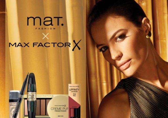 Η Mat. Fashion συνεργάζεται με τη MaxFactor με στόχο να προσφέρει στις λάτρεις της μόδας ολοκληρωμένες προτάσεις για κάθε εμφάνιση.