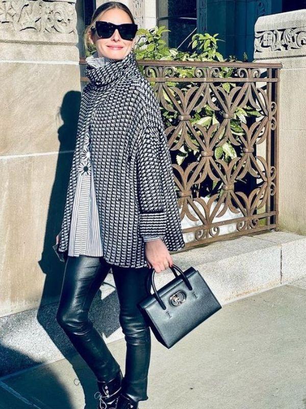 Get the Look: Olivia Palermo με ασπρόμαυρη κάπα - Recreate το κομψό look της Olivia Palermo με οικονομικές προτάσεις από αγαπημένα brands.