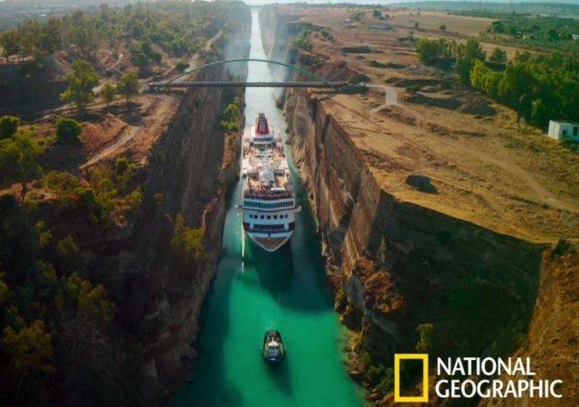 """""""Η Ευρώπη από ψηλά"""" επιστρέφει στο National Geographic - Ο νέος κύκλος ξεκινά με ένα επεισόδιο αφιερωμένο στην Ελλάδα. ©National Geographic"""