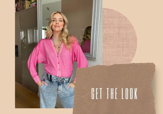 Εντυπωσιάζει η Chiara Ferragni με ροζ ζακέτα Falconeri που σίγουρα θα λατρέψετε! Σύγχρονο στυλ που ταιριάζει σε κάθε δυναμική γυναίκα.