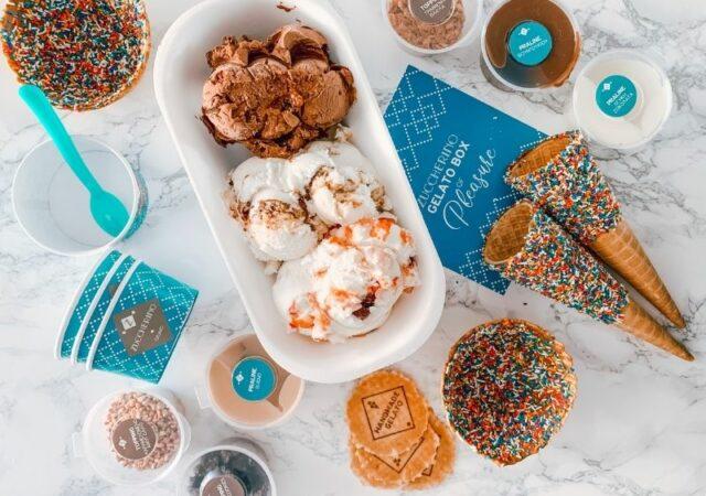 Το Zuccherino Gelato Box έχει όλα όσα χρειαζόμαστε για να φτιάξουμε μόνοι σας, το δικό μας gelato, όπως εμείς θέλουμε να το απολαύσουμε!
