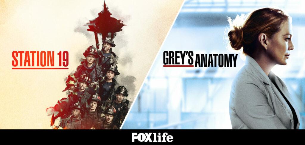«STATION 19» και «GREY'S ANATOMY» ενώνουν δυνάμεις και επιστρέφουν με νέα επεισόδια στο ΣΤΟ FOX LIFE!