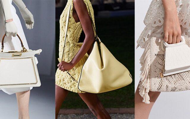 Spring Summer 2021 Bag Trends - Οι δημοφιλέστερες τάσεις στις τσάντες που θα επικρατήσουν στην ντουλάπα σας αυτή τη σεζόν.