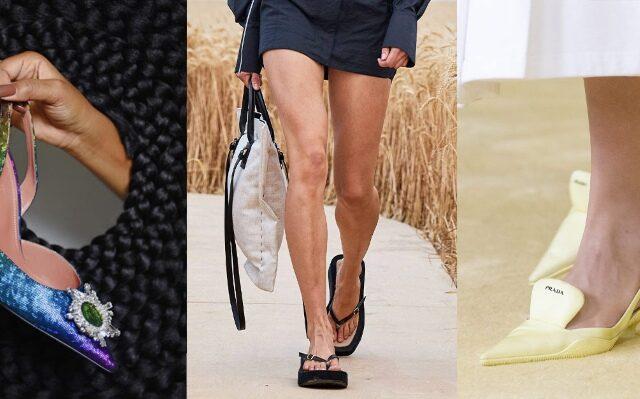 9+1 Spring-Summer 2021 Shoe Trends που θα πρωταγωνιστήσουν την φετινή σεζόν στις εμφανίσεις μας, χαρίζοντας άνεση, κομψότητα και λάμψη.