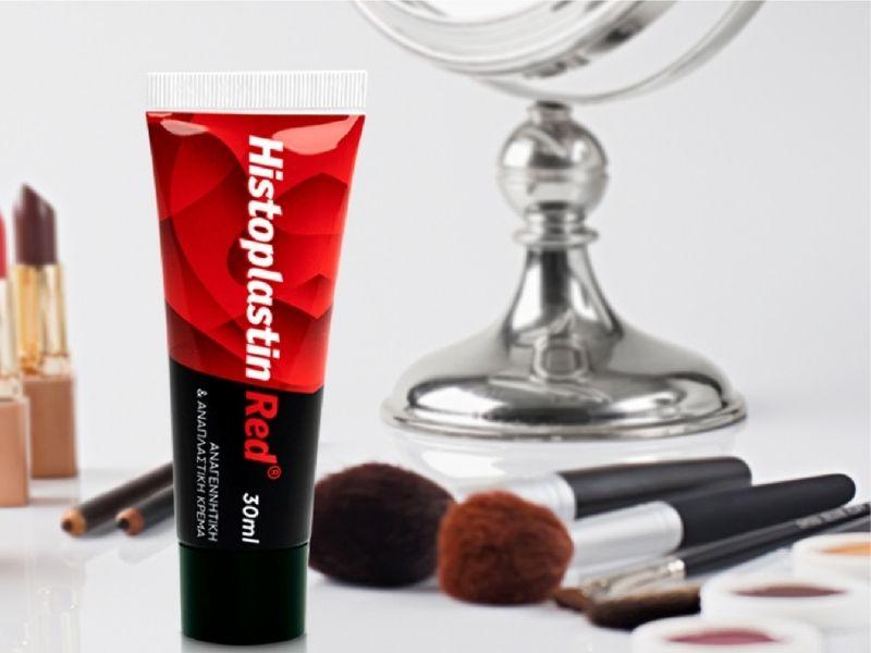 Histoplastin Red για ανάπλαση και λάμψη - Ένα καινοτόμο προϊόν επιστημονικής έρευνα που αντιστρέφει τα σημάδια του χρόνου.