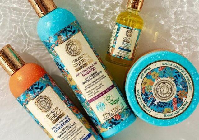 Προστατέψτε τα μαλλιά σας από την ηλιακή ακτινοβολία και την αφυδάτωση με τη σειρά Oblepikha Professional της Natura Siberica.