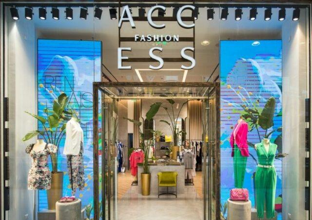 Το νέο κατάστημα Access Fashion @ The Mall Athens αντικατοπτρίζει τον προσανατολισμό του brand στην εξατομικευμένη εξυπηρέτηση.