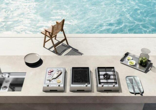 Feel the summer! Νέες λύσεις για outdoor εμπειρίες από τη Gruppo Cucine με την σειρά της της κορυφαίας ιταλικής εταιρείας Barazza.