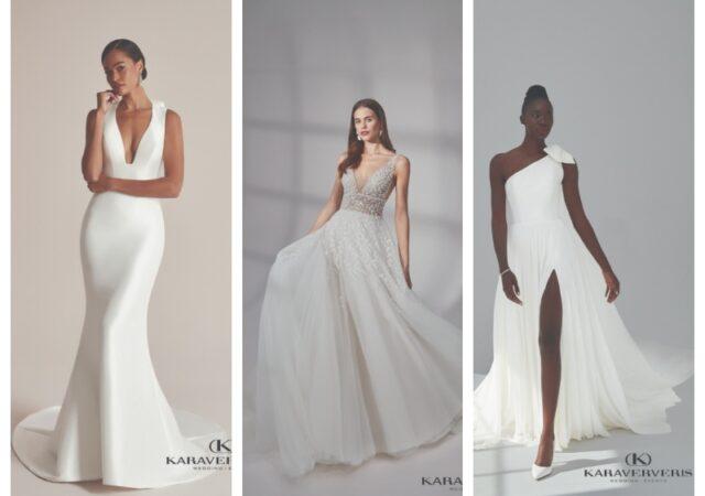 Οι νέες Bridal τάσεις από τον οίκο Karaververis μέσα από μια ανατρεπτική και άκρως εντυπωσιακή συλλογή για το 2022.