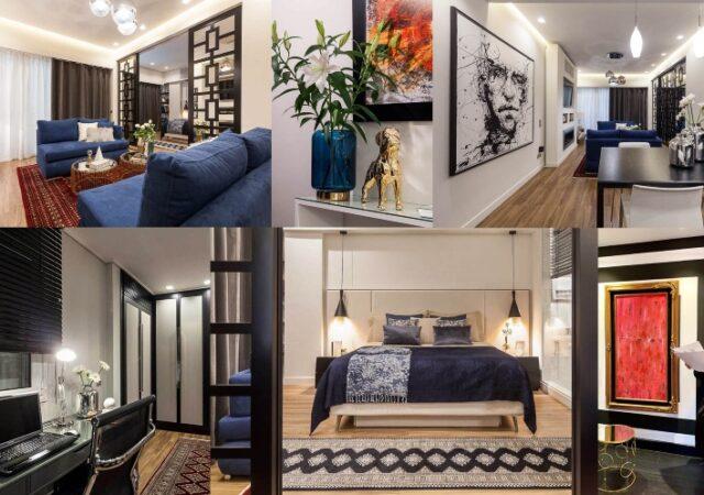 Πολυτελές διαμέρισμα στο Κολωνάκι 80 τ.μ. ανακαινισμένο και διακοσμημένο από το Sissy Feida Interiors με χρήση υλικών υψηλής ποιότητας.